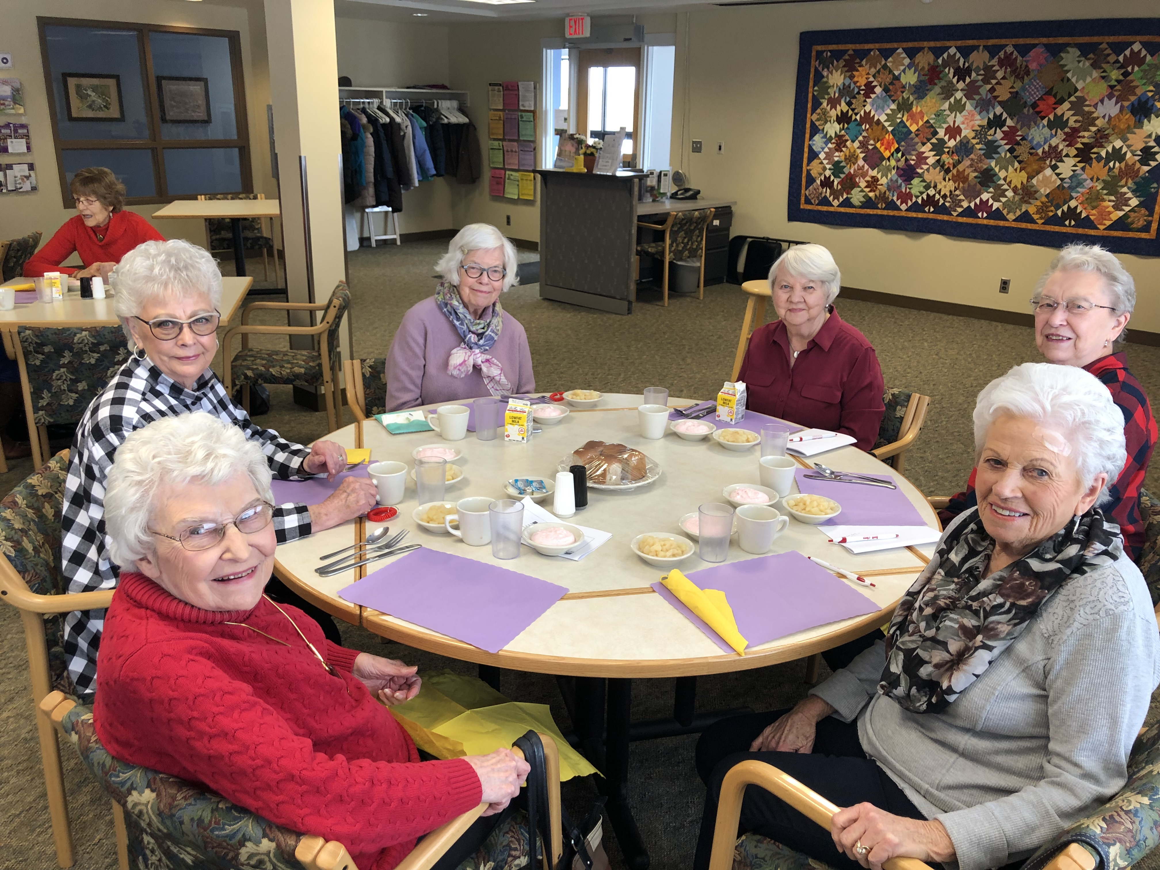 Senior Center Ladies at Leisure